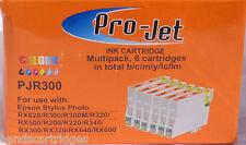 6 Black Non OEM Compatible Projet Inkjet Cartridges T481