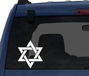 Star-Design-3-Star-Of-David-Jewish-Hebrew-Symbol-Car-Tablet-Vinyl-Decal