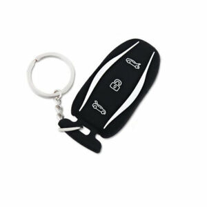 Silicone Car Remote Key Fob Cover Case Holder Skin Shell Fit For Tesla Model S X