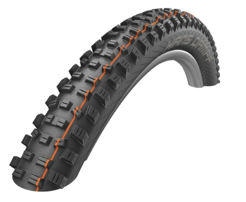 Schwalbe Hans Dampf HS491, Addix Folding, Tubeless MTN Bike Tire