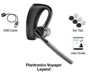Plantronics Voyager Legend Bluetooth Headset With Noise Reduction Voice Command 17229141094 Ebay