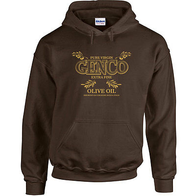 Genco Olive Oil Importing Co  The Godfather Corleone Navy Crewneck Sweatshirt