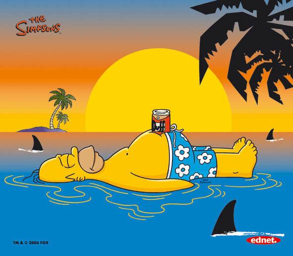 Hommer Simpson - Pad & Alfombrilla de Raton