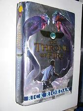 Kane Chronicles #2 Throne Of Fire by Rick Riordan hardback 1st edition 2011