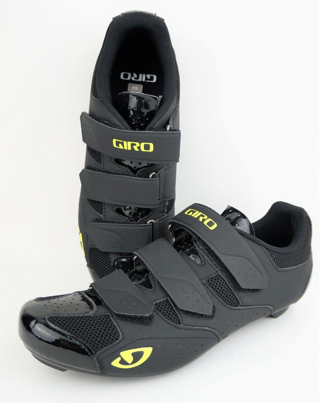 Giro Gradis RD para hombre Negro Resaltar Amarillo Zapatos De Ciclismo  precio de venta sugerido por el fabricante  100
