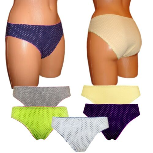 4 oder 8 super bequeme Damen  Slips Mix Baumwolle Unterhosen  38 40 42 M L XL