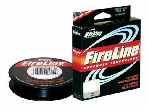 Berkley Fireline Braid Spools 6lb 125yds 10lb and 14lb 300yds FREE P&P