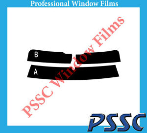 PSSC Pre Cut Rear Car Window Films for Audi A5 Coupe 2007 to 2016 05/% Very Dark Limo Tint