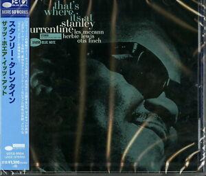 STANLEY-TURRENTINE-THAT-039-S-WHERE-IT-039-S-AT-JAPAN-CD-Ltd-Ed-C41
