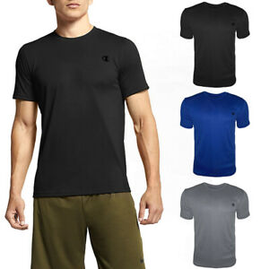 Champion Men's T-Shirt Athletic Moister Wicking Fitness Gym Workout Shirt