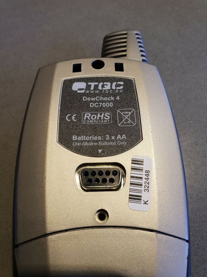 Datalogger, DewCheck 4 DC7000