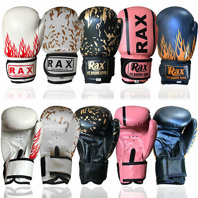 6oz Kids Boxing Gloves MMA Training Mitts Punch Bag Sparring Unisex Size 4oz