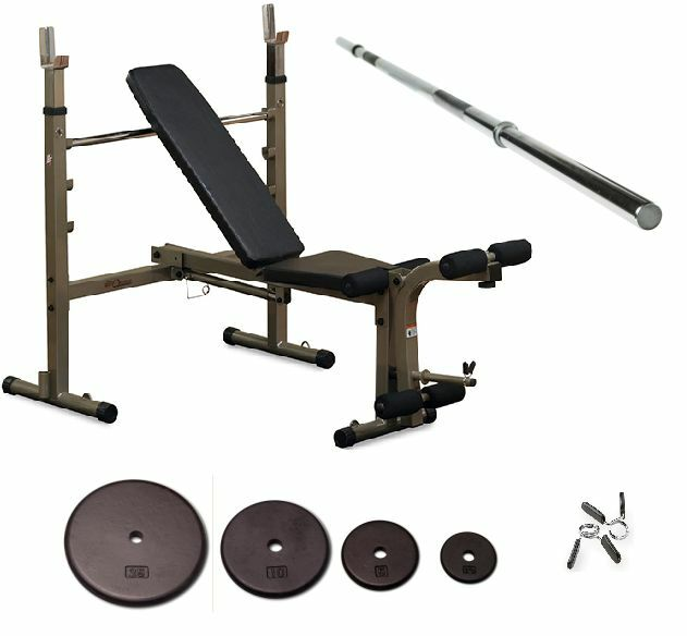 Body Solid Best Fitness Bfob10 Olympic Bench For Sale Online Ebay