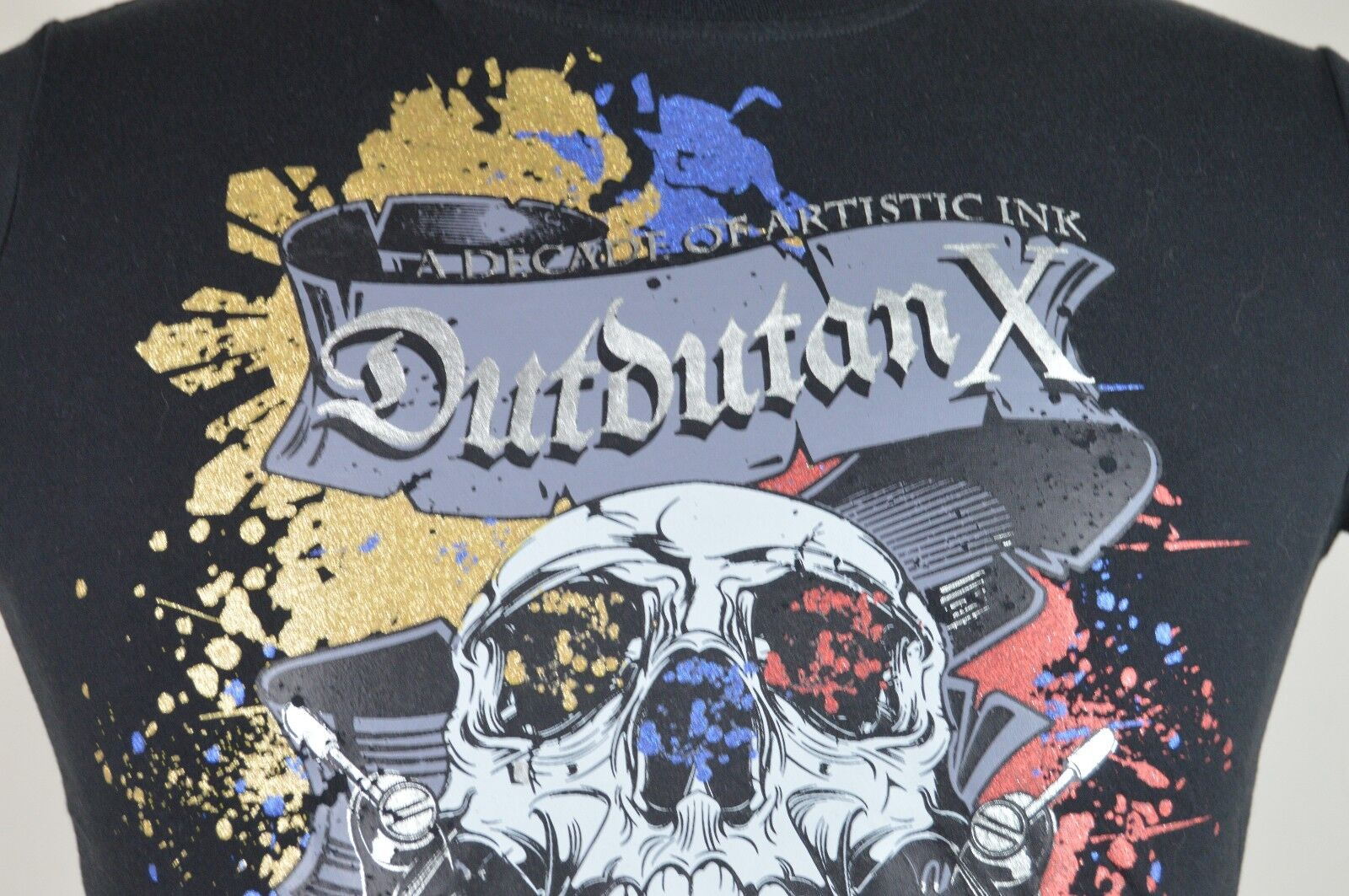 Dutdutan X Decade of Artistic Ink Tattoo Expo S Mens Bl