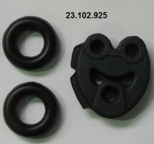 EBERSPÄCHER Montagesatz Schalldämpfer 23.102.925 für MERCEDES 190 W201 hinten