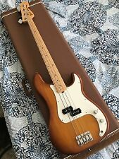 2013 FENDER BLACK AMERICAN SPECIAL PRECISION BASS WITH CASE MADE IN USA