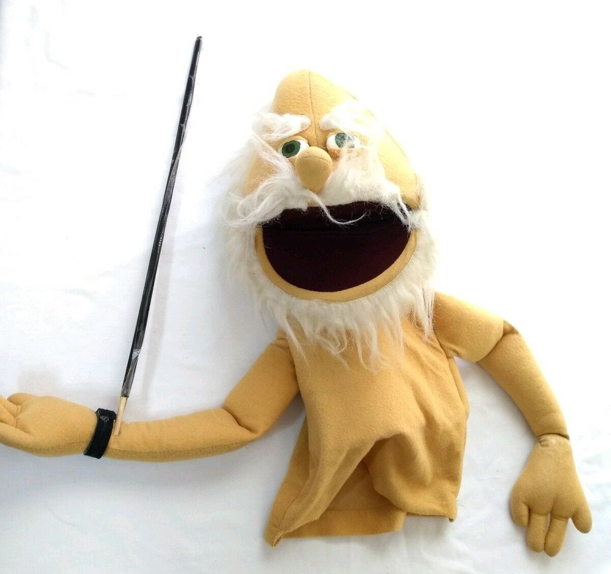 Vintage Hand Puppet Muppets Old Old Old Man 1977 0850a4