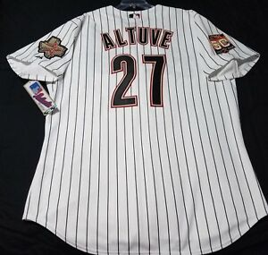 Image is loading Authentic-Majestic-52-2XL-HOUSTON-ASTROS-JOSE-ALTUVE- a63ee6d61