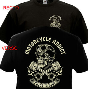 Camiseta-Motocicleta-Addict-Motero-Chopper-Bobber-Harley-Davidson-Indian-Biker