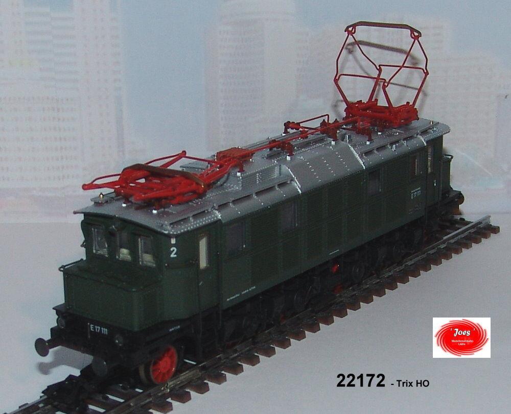 Trix 22172 Elektrolokomotive. Br e 17, DB Scala H0 Nuovo in Confezione Originale