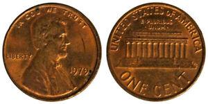 STATI UNITI 1 CENT 1979 Lincoln #9940