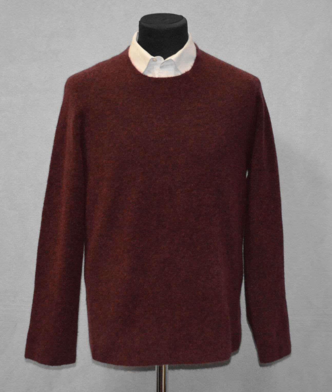 B5 NWT THEORY Renvig Radish Mohair Stretch Knit Raglan Sweater Sz M