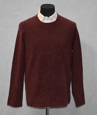 D0 NWT THEORY Renvig Radish Mohair Stretch Knit Raglan Sweater Sz L $395