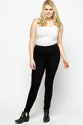 Ladies New Ex Zara Woman Skinny Spandex Slim Twill Jeans Trouser 5 colours