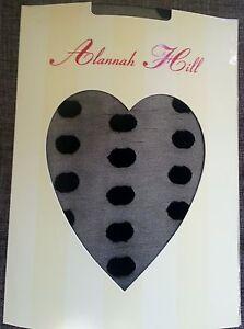 ALANNAH-HILL-TIGHTS-HOSIERY-Large-Polka-Dot-DESIGNER-PANTYHOSE-FAST-FREE-POST