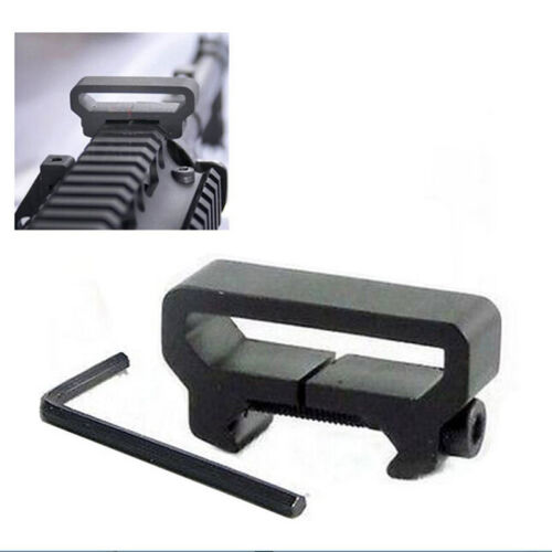 Tactical Rifle Sling Scope Mount Picatinny Weaver Rail Adapter Attachment TBICA