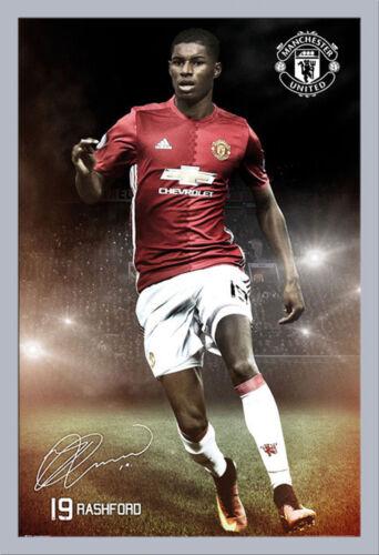 Rashford 16//17 Poster Manchester United Größe 61x91,5 cm