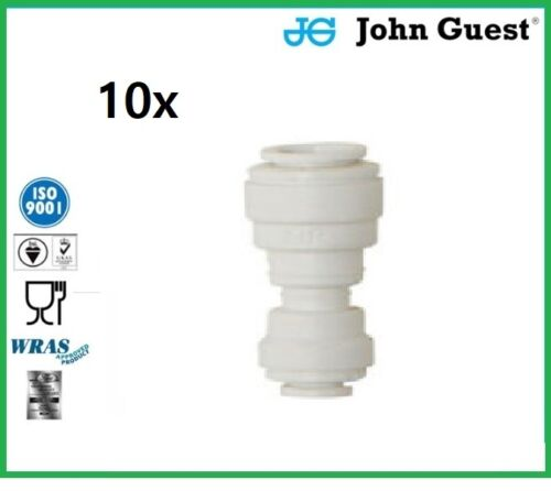10x John Guest Speedfit PP201208W 38OD 14OD Reducing Union