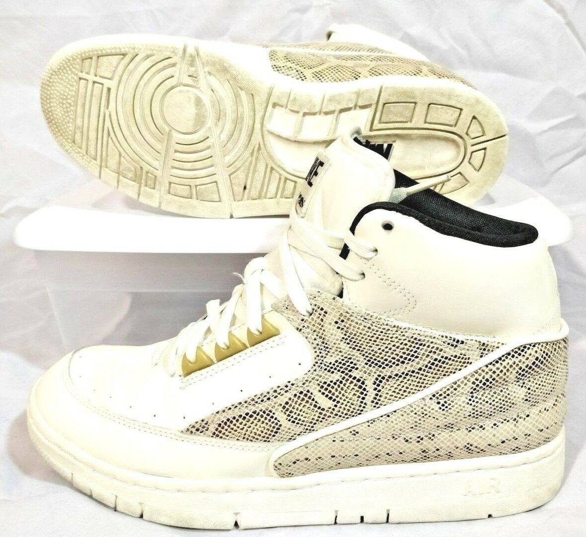 Nike Air Python Mens 7 Basketball Shoes Snake C93 best-selling model of the brand