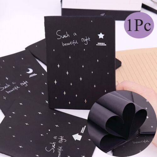Black Paper Painting Supplies Drawing Paper Notebook Sketch Book Sketchbook