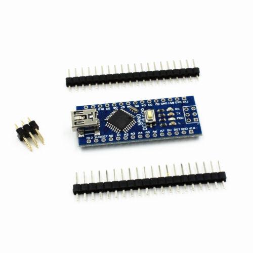 5X Mini USB Nano V3.0 ATmega328 5V 16M Micro-Controller CH340G Board für Arduino