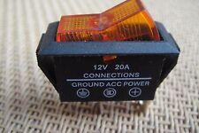 2pc For ROVER MINI COOPER  Light 12V Indicator Car/Boat Pilot Rocker Switch,Y09D