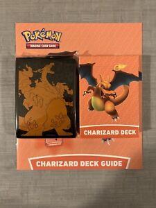 Charizard Deck from Pokemon Battle Academy with Charizard GX + Charizard Sleeves