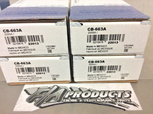Chevy Small Block 305 350 /& LS CLEVITE A-Series CB663A STD Rod Bearing Set Of 8