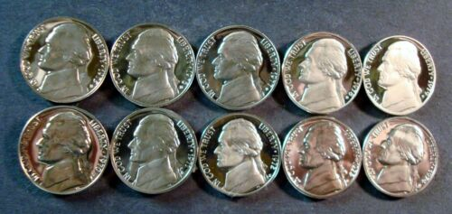 PROOF NICKELS 1964 TO  2010-S INCLUDES 3 SMS /& 1979-TYPE 2 JEFFERSON NICKEL 50