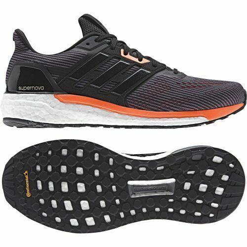 adidas Supernova Running grau schwarz orange 44 23