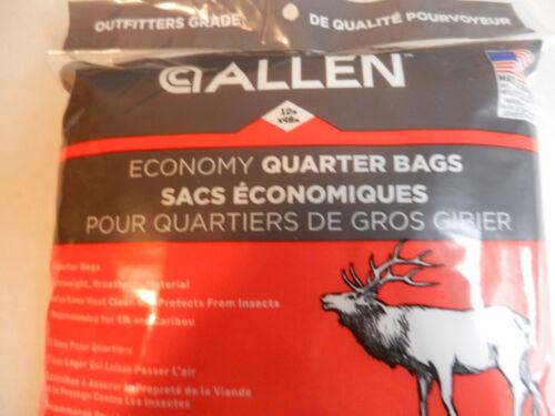 """Caribou;  Each bag 12/"""" x 48/"""";  60 Allen Big Game 4 Quarters Bags;  Elk Moose"""