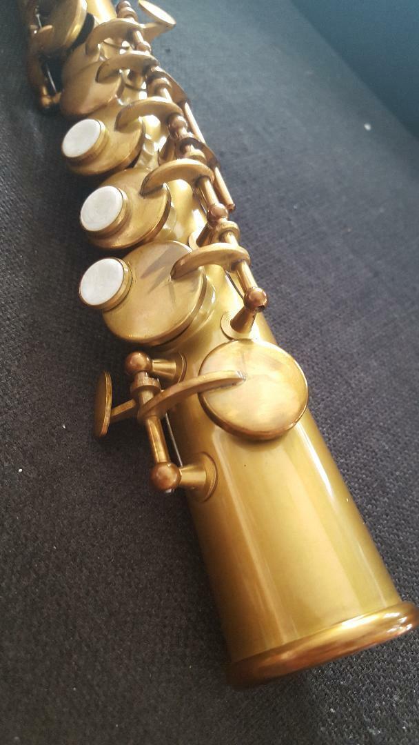 1 St in the World Berkeley Sopranino Saxophon w Jazz Mundstück