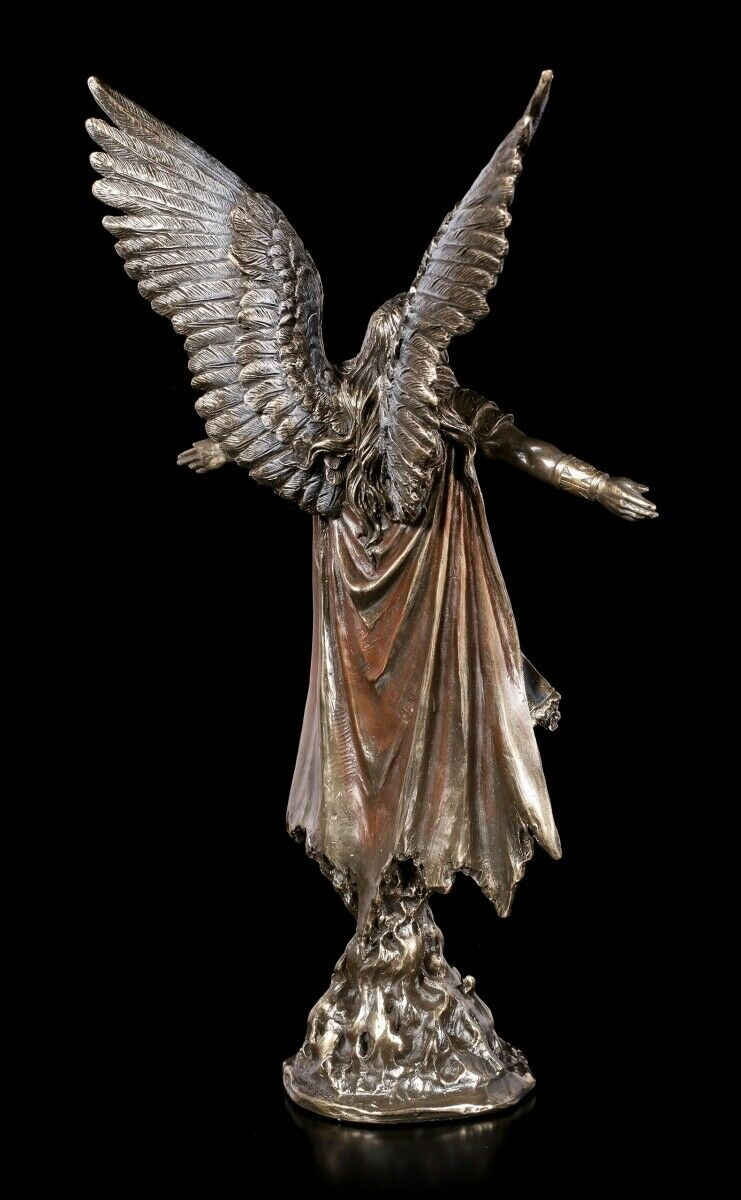 Himmelskrieger Engel Statue Erzengel Uriel Figur