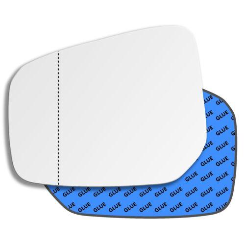 Lado Izquierdo Cristal Espejo Gran Angular Para MITSUBISHI ATTRAGE 2012-2019 0684LAS
