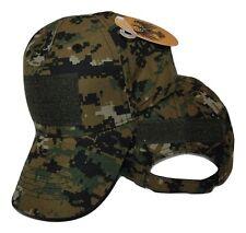 Marpat Camo Operator Operators Tactical Cap Hat Patch adjustable strap