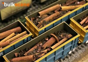 BULKSCENE-MODEL-SCRAP-RUSTY-PIPES-FOR-BACHMANN-SCRAP-WAGONS-OO-HO-GAUGE