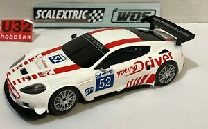 SCALEXTRIC-WOS-ASTON-MARTIN-DBR9-52-YOUNG-DRIVER-ONLY-IN-SETS-MINT-UNBOXED