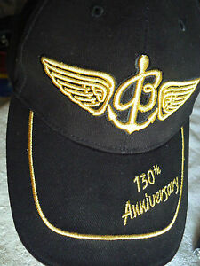 96da60e82d9 BREITLING CAP- 130TH ANNIVERSAY -BLACK-NOT FOR PUBLIC SALE-ONLY WITH ...