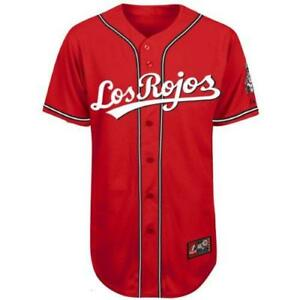 new product b55fc b2059 Details about Joey Votto Cincinnati Reds Youth #19 Los Rojos Jersey