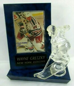 VTG-Wayne-Gretzky-NEW-YORK-RANGERS-3D-Card-Desktop-Shelf-Display-Trophy-Extra